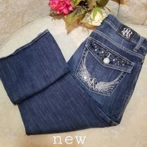 Rock & Republic Embroided Jeans